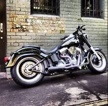 Custom Harley-Davidson Fat Boy Lo Alexandria Inner Sydney Preview
