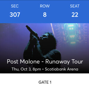 Post Malone tickets