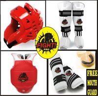 TAEKWONDO SPARRING GEAR, SAVE 70% OFF, TRY FREE @FIGHT PRO