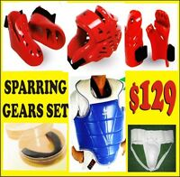 TAEKWONDO SPARRING GEARS, SAVE 70% OFF ON ALL MARTIAL ARTS  SUPP