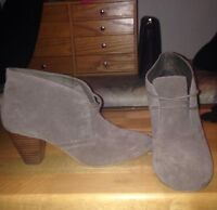 Also suede booties