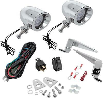 Show Chrome Mini Driving Light Kit LED 2-3/8