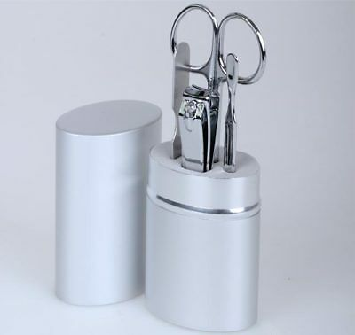 Reise Maniküre Set Nagelschere Nagelknipser Aluminiumetui 0052 ()