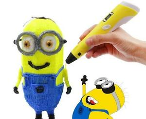 3d pen 3d doodler 3rd gen with screen and temperatur control SAFETY stand and clean nozzle for crisp and easy drwaing