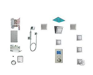 Kohler-DTV-II-Rain-Shower-Spa-Set-w-WaterTile-Steam-Generator-Interface-Speaker