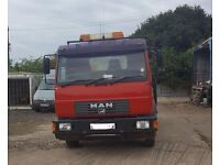 MAN 7.5t Tipper Truck