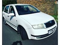 Skoda fabia 12month mot lady owner 12month tax full service history with stamped