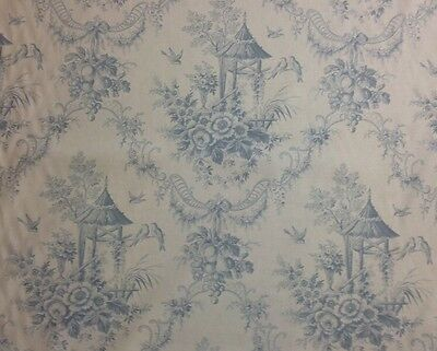 "CLEARANCE - Vintage ""CHELSEA GARDENS"", SUMMER HILL LTD Exclusive. TOILE, R344"