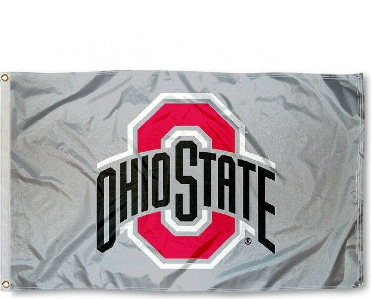 OHIO STATE BUCKEYES 3'X5' FLAG OSU OHIO STATE UNIVERSITY: FR
