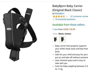 Baby Bjorn / Carrier cover
