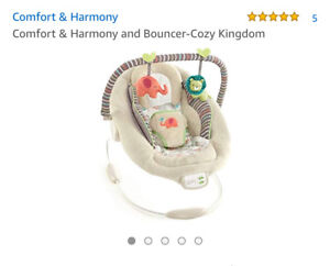 Baby bouncer Comfort & Harmony: brand new! Never used!