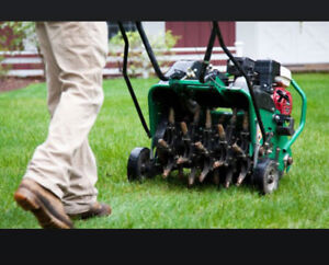 $40 Lawn Aerating Aeration