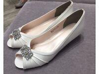 Ivory Bridal shoes size 7