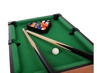 Deluxe table top pool 30x50