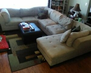 Awesome Beige Sectional For Sale!