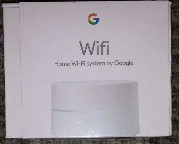Google Wifi AC1200 Dual-Band Mesh Wi-Fi System 1-pack White AC-1304 IN HAND NEW