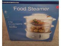 Durabrand 2 tier food steamer