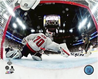 Braden Holtby The Save 2018 Stanley Cup Washington Capitals 8X10 Action Photo
