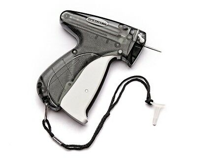 """Clothing Price Tagging Tag Tagger Label Gun + 2000 3""""clear barbs & 1 needle usa."""