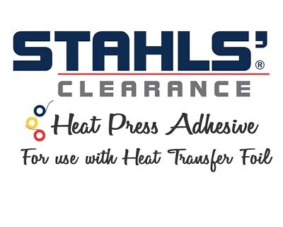 11.8 X 5 Yards - Stahls Clearance Htv Adhesive - For Use With Foils