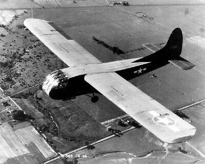 U.S. Army Air Force Waco Glider Air Craft Flight 8x10 World War II WW2 Photo 701
