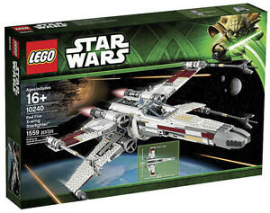 LEGO-Star-Wars-10240-Red-Five-X-wing-Ultimate-Collector-NEW-SEALED-RETIRED-Look