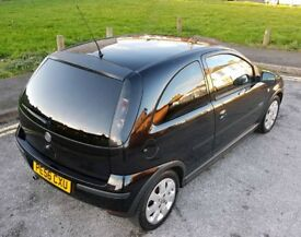 £900 Vauxhall Corsa SXI+ 1.2 16v 12 Months MOT, Leather interior, Immaculate throughout