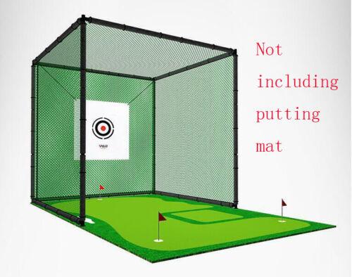 USA Stock Golf Practice Network 9.8ft x 9.8ft Golf Hitting Net Training Aid Hot