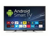 BRAND NEW CELLO 50inch SMART FULL HD ANDROID LED TV,FREE DELIVERY,FREEVIEW