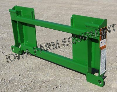 Skid Steer To John Deere 500 Series Loaders Quick Attach Adapter