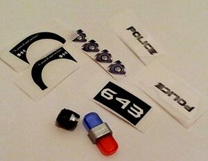 Transformers Barricade KFC Badcop add-on Kit Vehicon upgrade TFPrime Custom G1