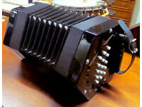 Stephanelli 3 Row Anglo Concertina Mint Condition ***PRICE REDUCED & FREE POSTAGE***