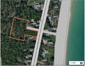 Large building lot with Georgian Bay View on Bruce Peninsula
