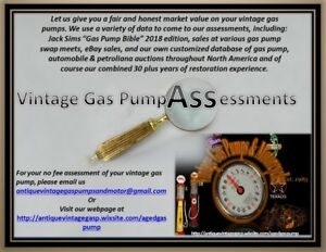 ⛽Free Vintage Gas Pump Assessment Free⛽