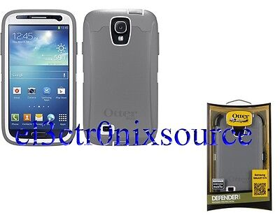 NEW OTTERBOX DEFENDER & HOLSTER CASE for Samsung Galaxy S4 S IV 4 GLACIER WHITE on Rummage
