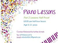 Piano and Music Theory Lessons for Children