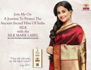 View our range of Silk Mark Certified PURE SILK Kanchipuram Sarees