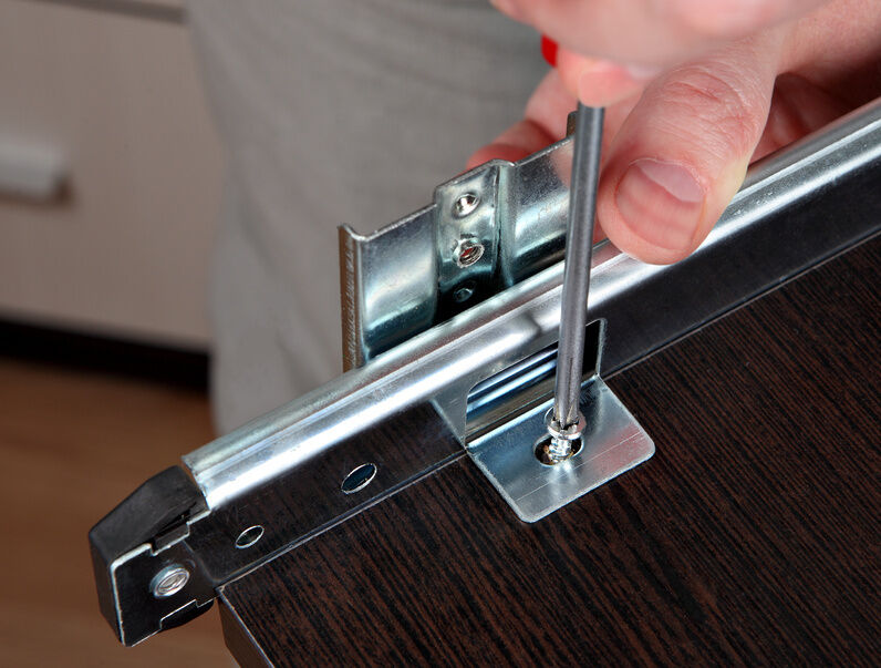 How to Install Sliders On Drawers