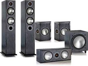 Monitor Audio B5 HiFi Home Theatre 5.1 Speaker System Coogee Eastern Suburbs Preview