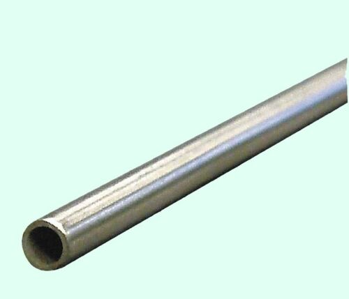 """Round Tubing 304 Stainless Steel  1/8"""" OD x 6 ft.  Welded 0.085"""" Inside Dia."""
