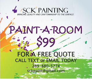 PAINT-A-ROOM for only $99.00!