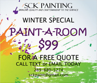 PAINT-A-ROOM $99.