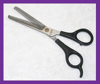 Thinning Hair Cut Scissors German Stainless Blk 666-16 (d/e)