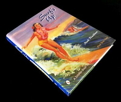 """Collecting the Longboard Era/"""" SIGNED BOOK by author Mark Blackburn /""""Surf/'s Up"""