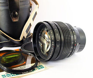NEW KALEINAR-3 3V 3B PORTRAIT lens 150mm f/2.8 Kiev-88 6x6 USSR format camera