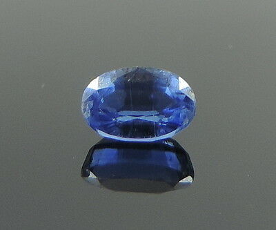 0.73 Ct Natural Blue Kyanite Gem Faceted Oval Cut