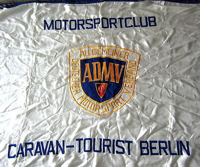 ADMV Fahne des Motorsport Club Sektion Caravan Tourist Berlin gestickt 160x120cm