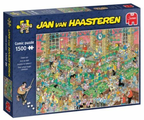 Jumbo Jan Van Haasteren 1500 Piece Jigsaw Puzzle - Chalk Up
