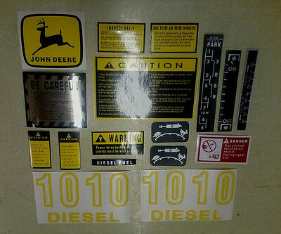John Deere 1010 Decals