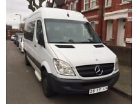 LHD LEFT HAND DRIVE MERCEDES SPRINTER 311 CDI 2007 AUTOMATIC 9 SEATER CLEAN